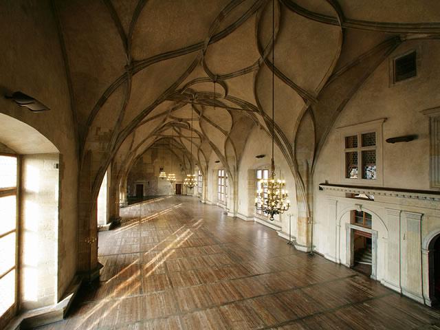 El castillo de praga for Salon medieval