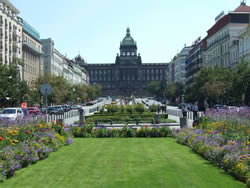 Plaza Wenceslao Praga
